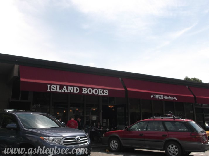 Front of Island B