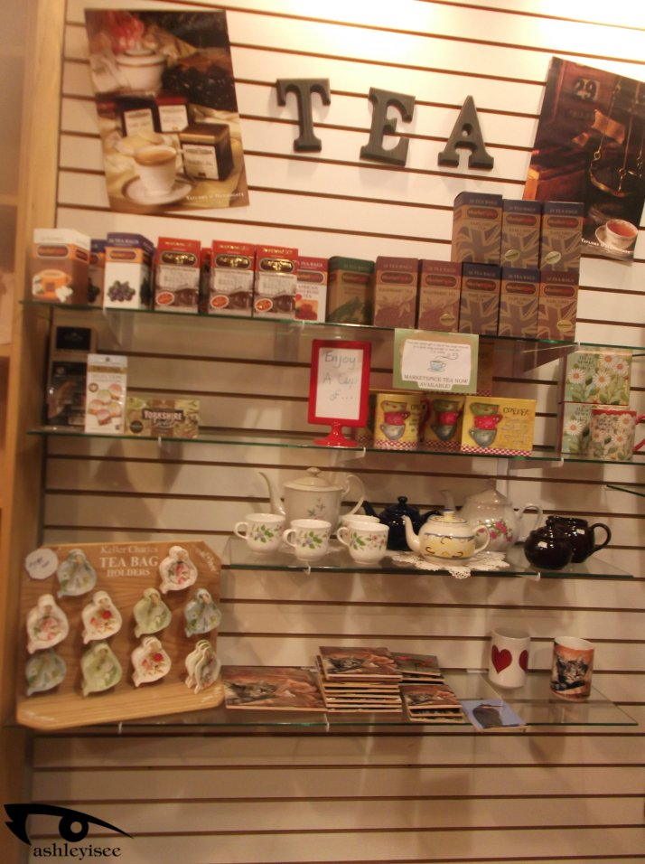Pearl St Tea section