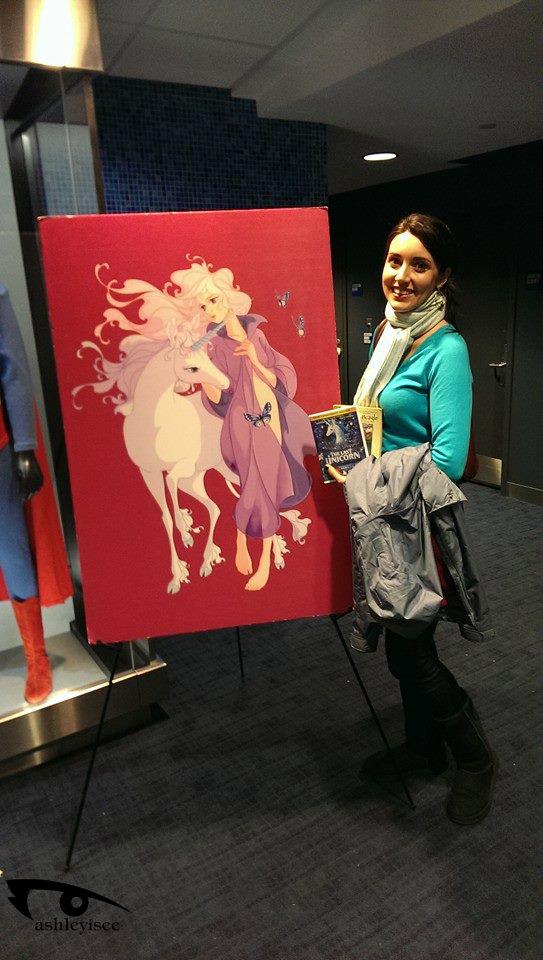 Sarah with Print